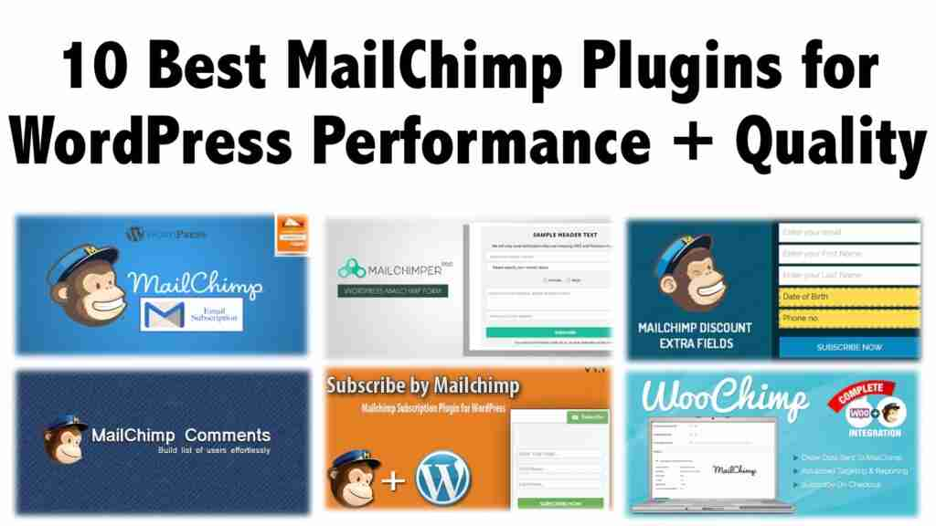 10 Best MailChimp Plugins for WordPress Performance + Quality