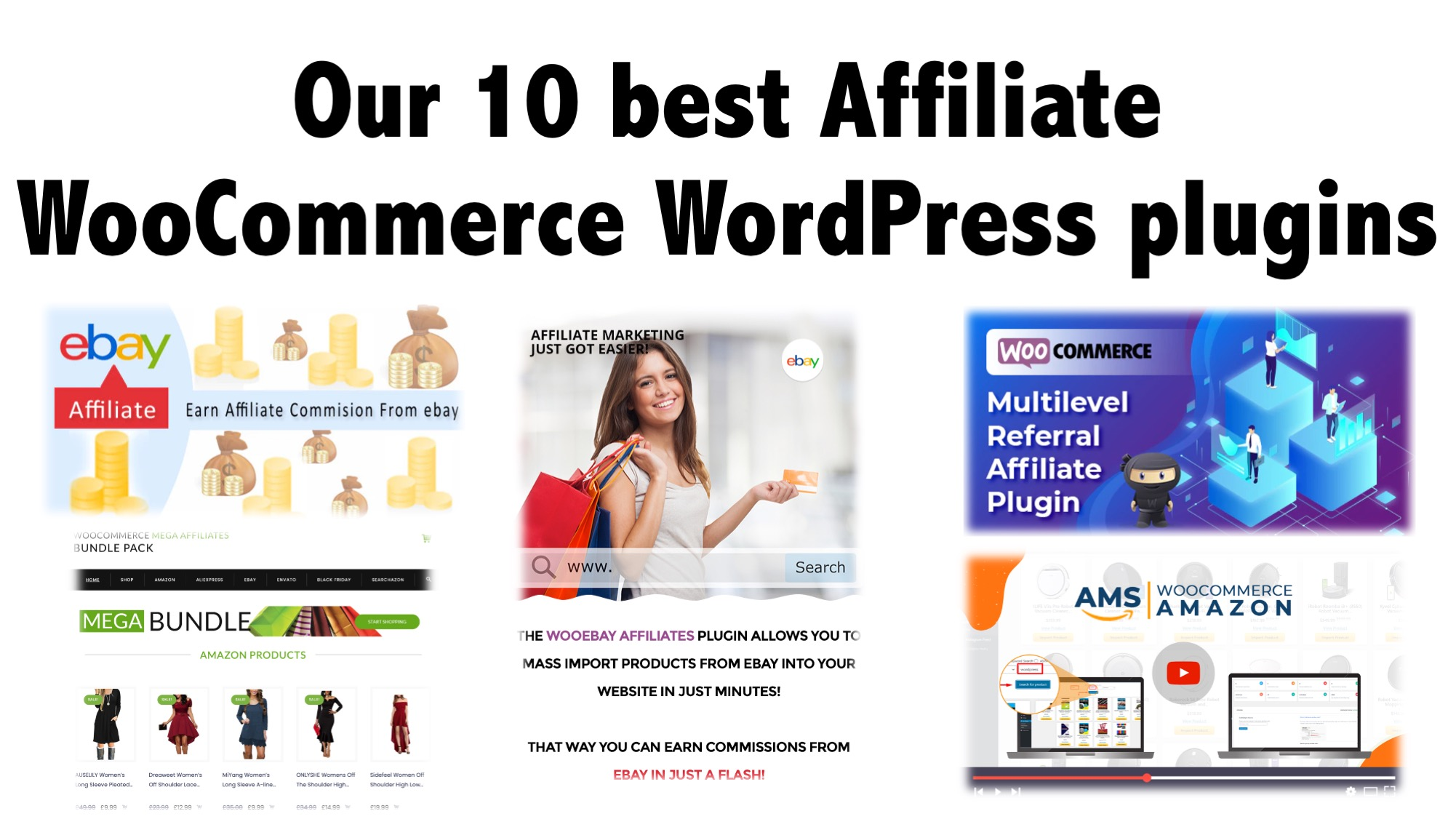 Our 10 best Affiliate WooCommerce WordPress plugins