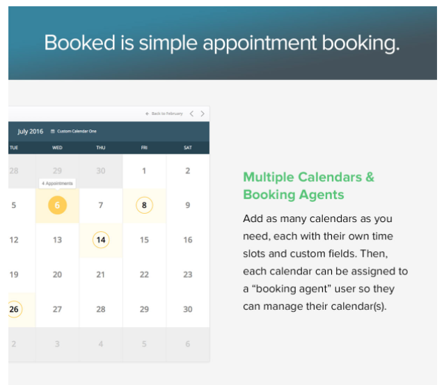 Booked - Appointment Booking for WordPress - 2