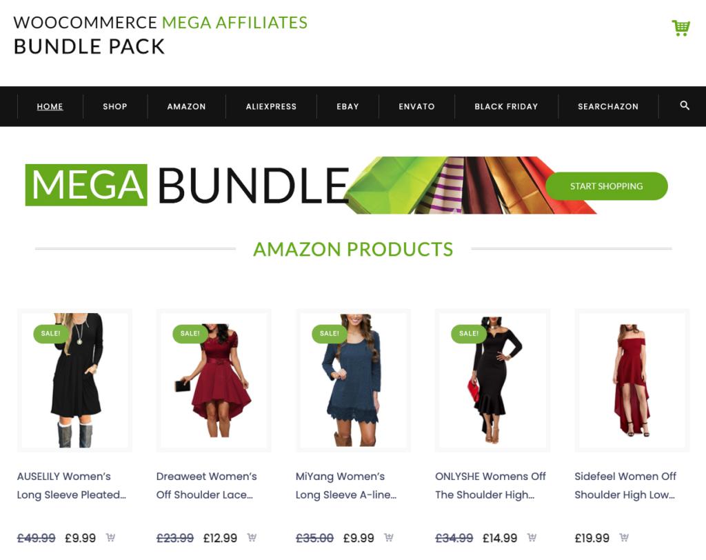 9 - Woocommerce Mega Affiliates Bundle Pack