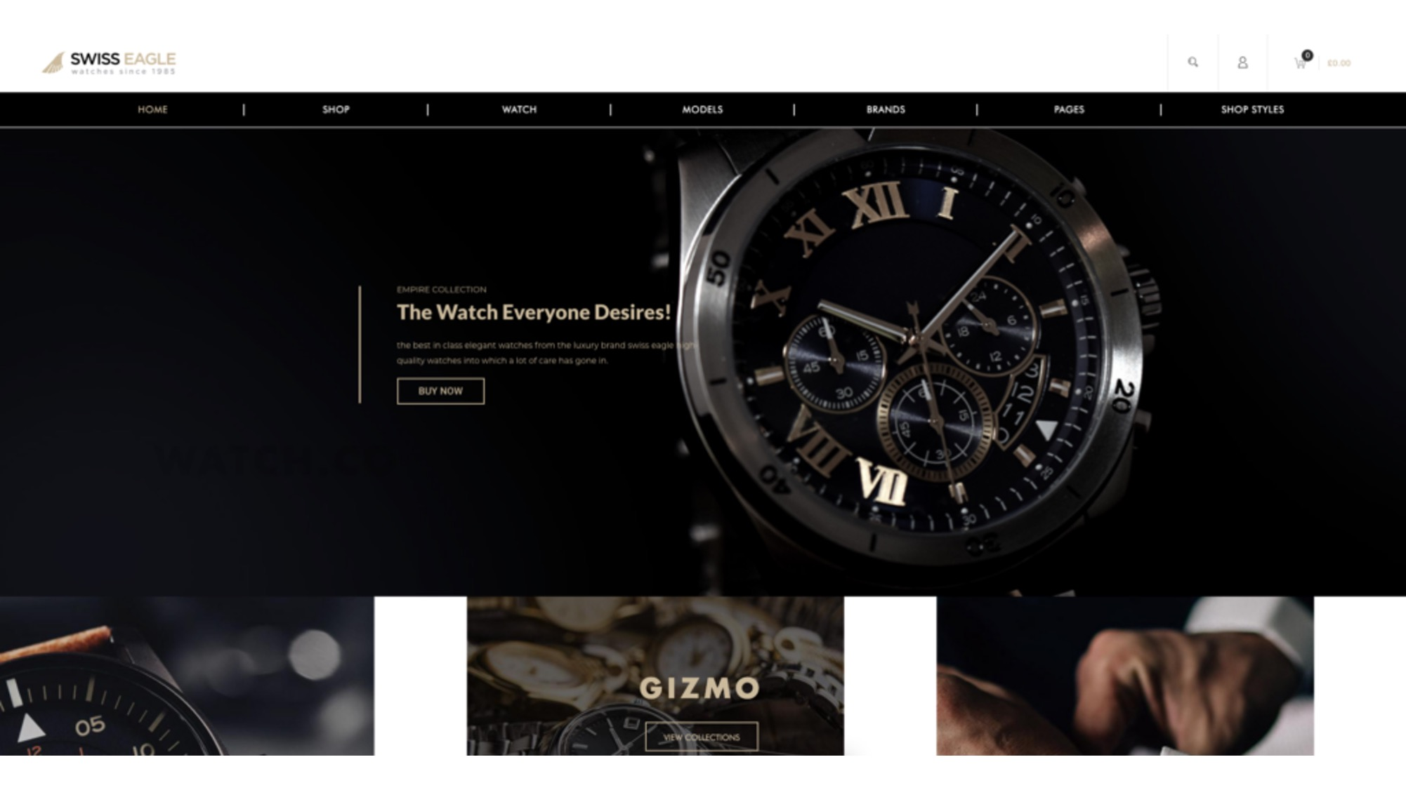 11 Best Jewelry Watches Ecommerce Themes For Wordpress