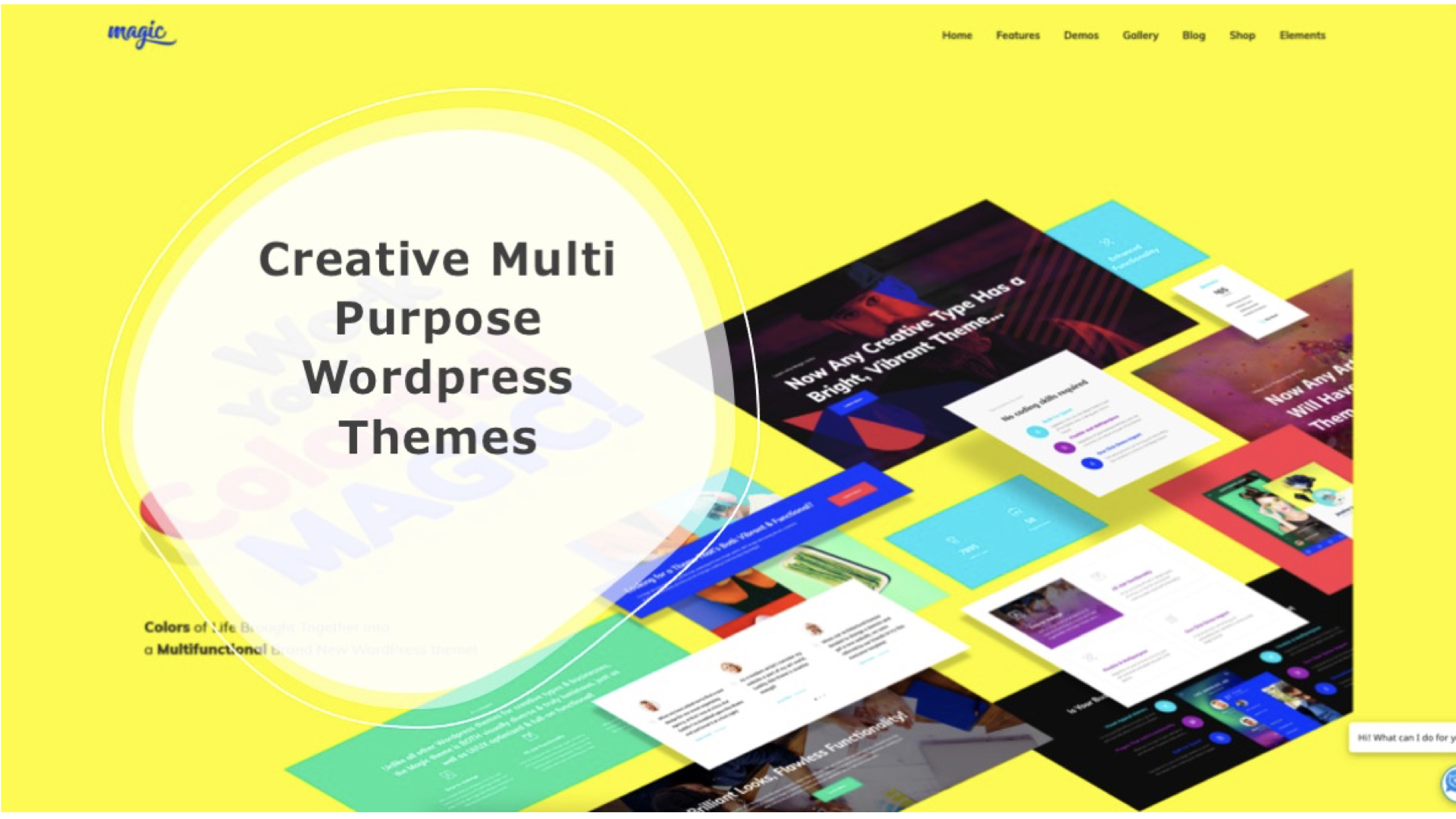 Creative Multi Purpose Wordpress Themes