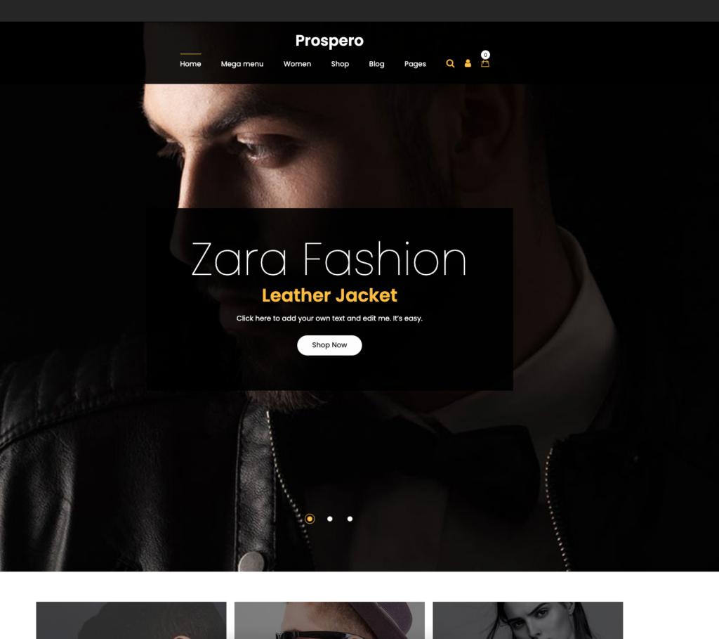 1. Prospero - Fashion Jewelry Watch and Glasses WooCommerce Theme