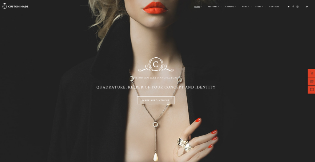 2. Custom Made| Jewelry Manufacturer and Store
