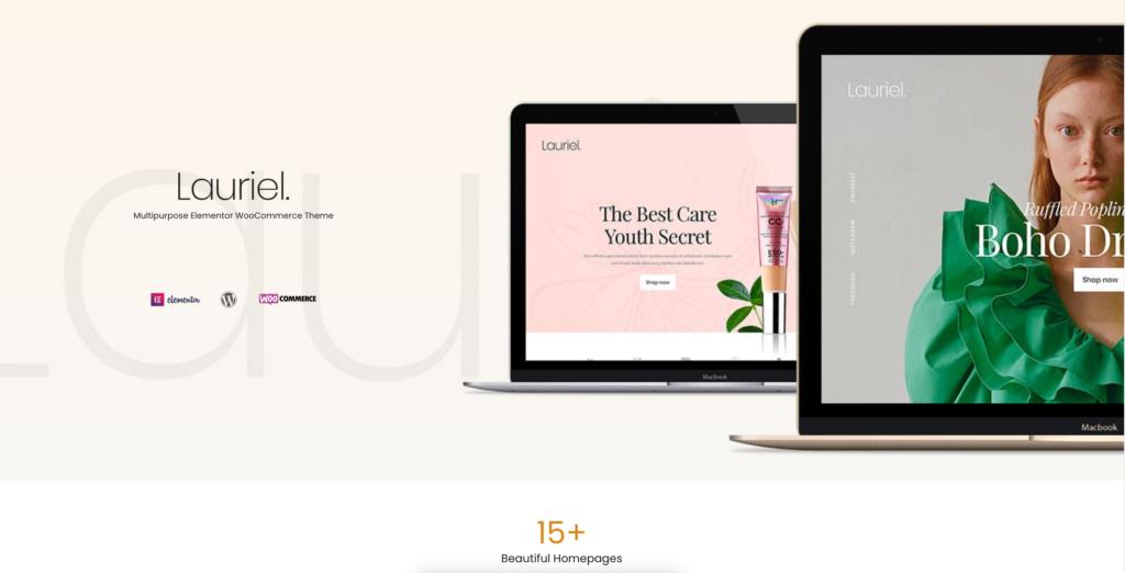 11. Lauriel – Multipurpose WooCommerce Theme