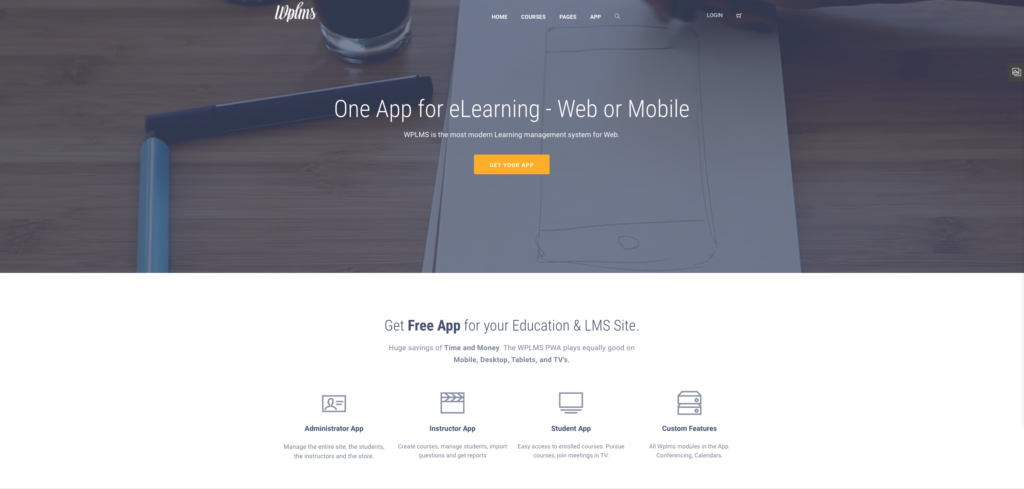 2. WPLMS Learning Management System for WordPress