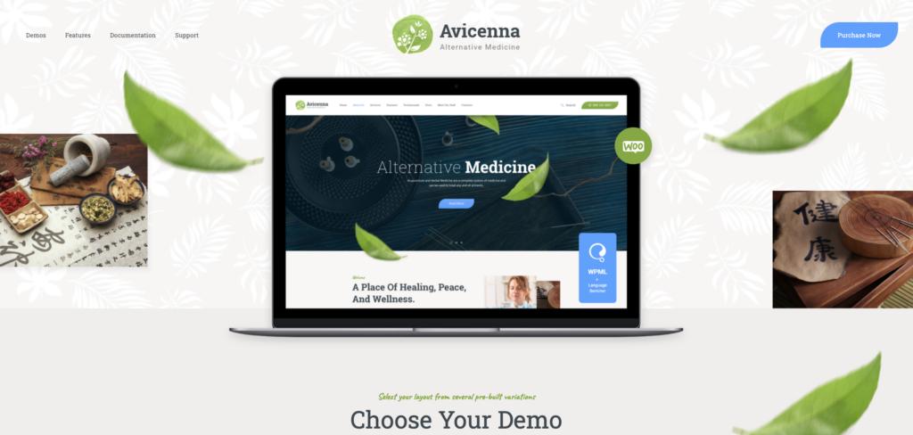 1.  Avicenna | Alternative Folk Medicine Doctor WordPress Theme + Shop