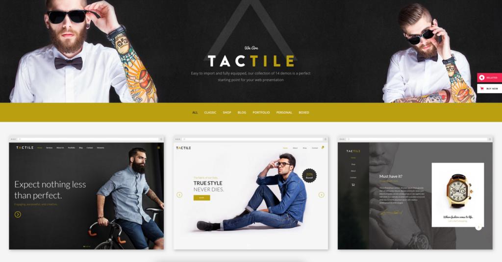 Tactile | Multipurpose Theme