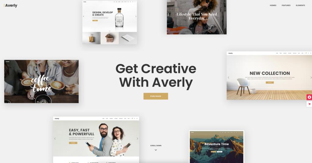 Averly | Creative Multipurpose Theme