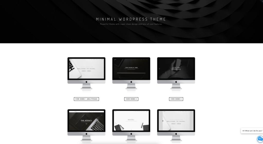 Hazel | Clean Minimalist Multi-Purpose WordPress Theme