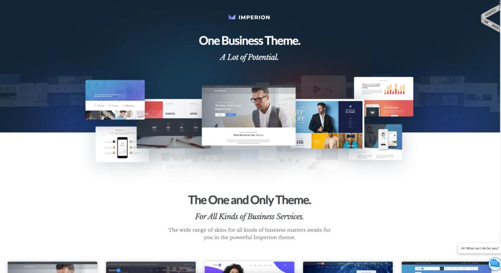 Imperion | Multipurpose Corporate WordPress Theme