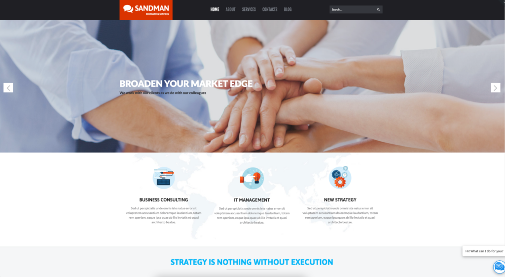 Sandman | Business Multipurpose Modern WordPress Elementor Theme