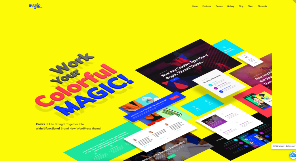 Magic | Multipurpose Creative WordPress Theme
