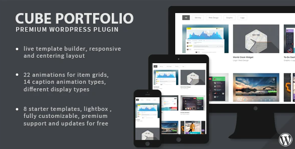 Cube Portfolio - Responsive WordPress Grid Plugin
