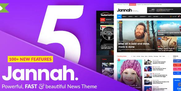 Jannah - Newspaper Magazine News BuddyPress AM