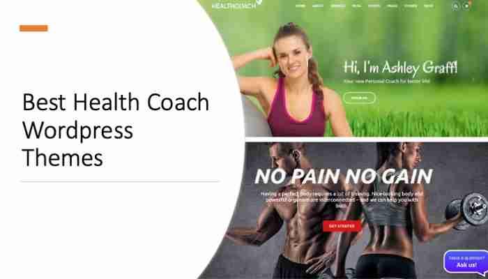 Best Health Coach Wordpress Themes