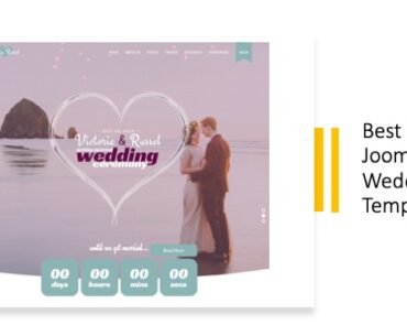 Best Joomla Wedding Templates