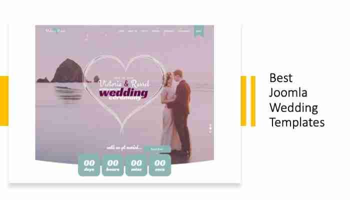 Best Joomla Wedding Templates
