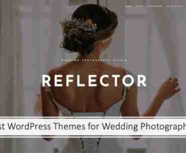 Best WordPress Themes for Wedding Photographers