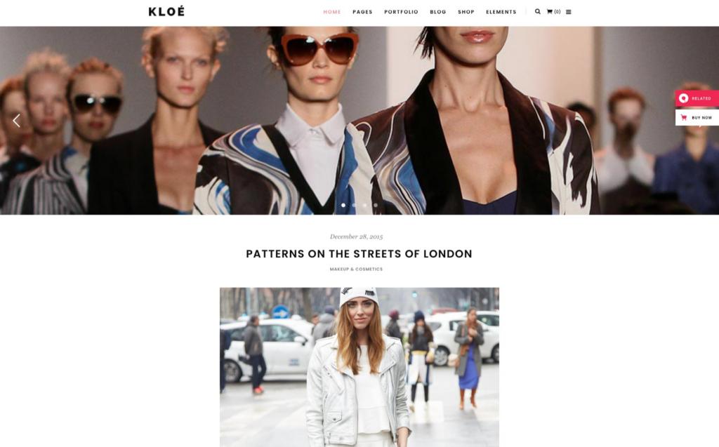 Khloe- Fashion & Lifestyle Multipurpose Theme