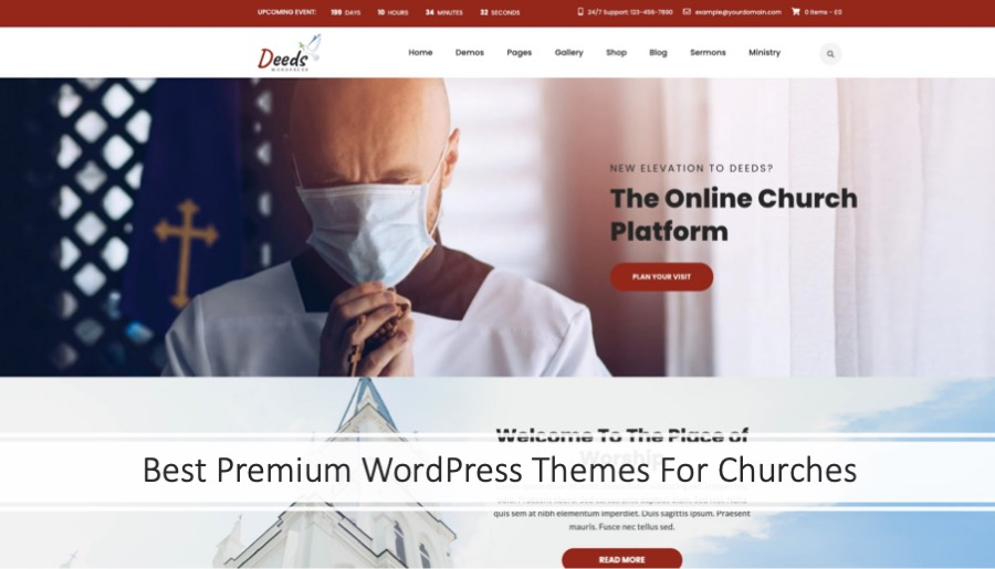 Best Premium WordPress Themes For Churches