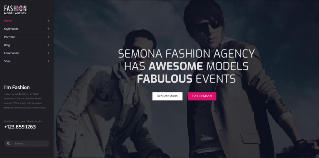 Fashion Semona - Creative Joomla Template