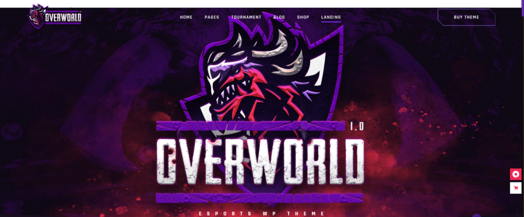 Overworld - eSports and Gaming Theme
