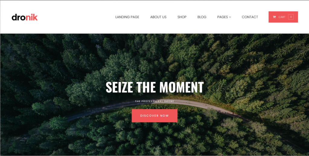 "Strollik - Single Product WooCommerce WordPress Theme ""Dronik"""