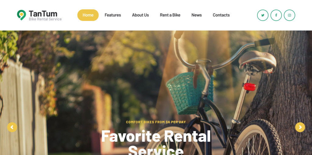 """""""Rent a Bicycle"""" in TanTum 