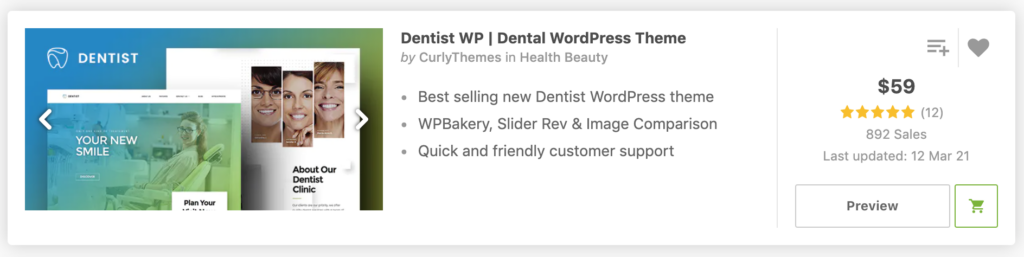 Dentist WP | Dental WordPress Theme