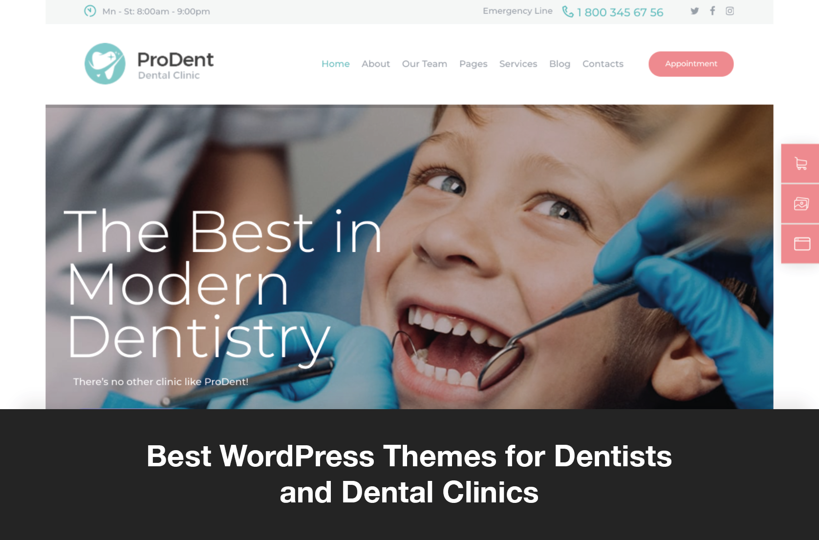 Best WordPress Themes for Dentists and Dental Clinics