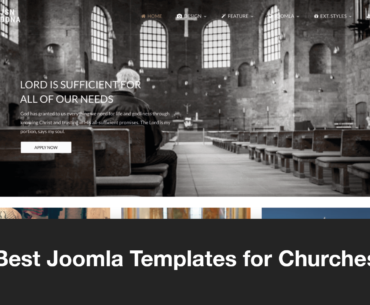The Best Joomla Church Templates in 2021