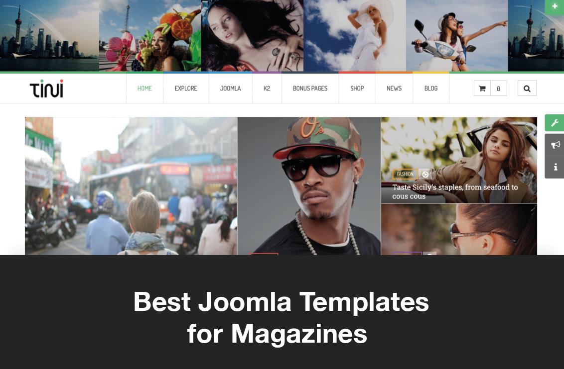 Best Joomla Templates for Magazines