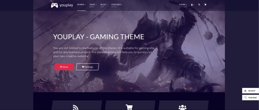 Youplay - Gaming WordPress Theme