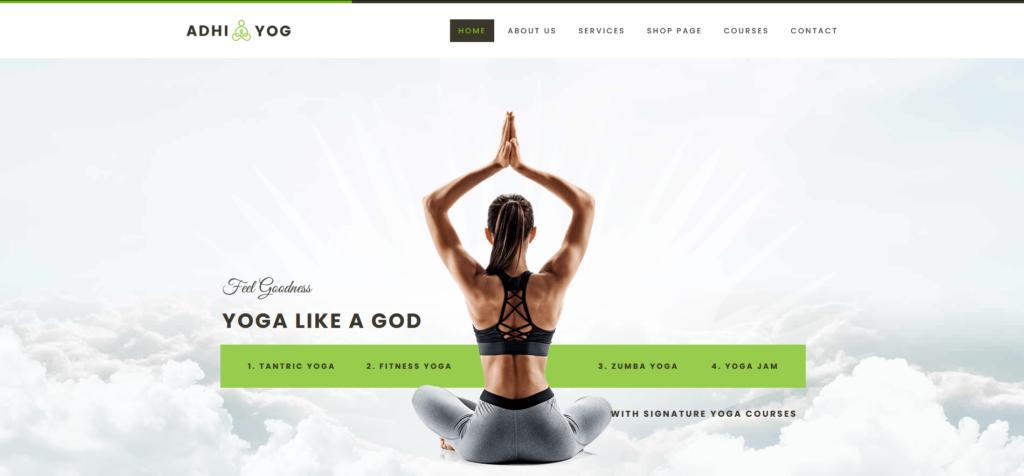 Adhi Yoga - Wellness Center