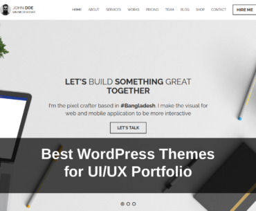 15 Best WordPress Themes for UI/UX Portfolio in 2021