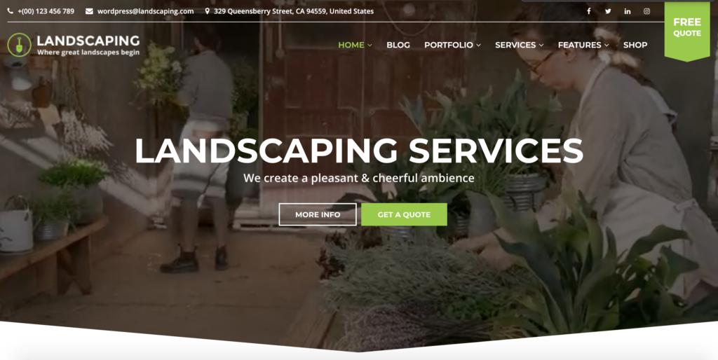 Gardex | Landscaping & Gardening WordPress Theme