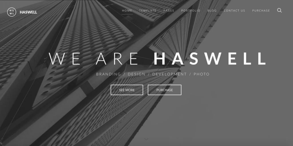 Haswell - Multipurpose One & MultiPage Joomla Template