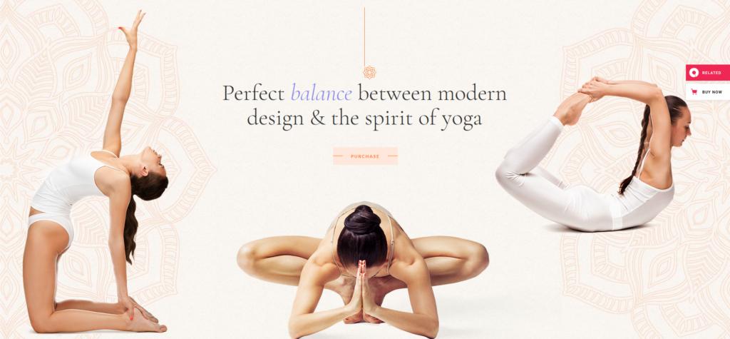 Hatha - Yoga WordPress Theme