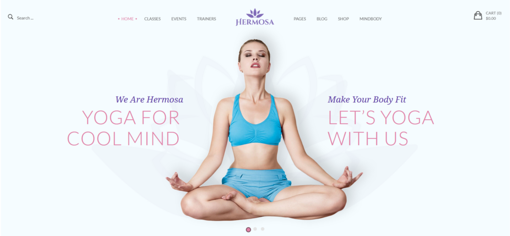 Hermosa - Health Beauty & Yoga WordPress Theme