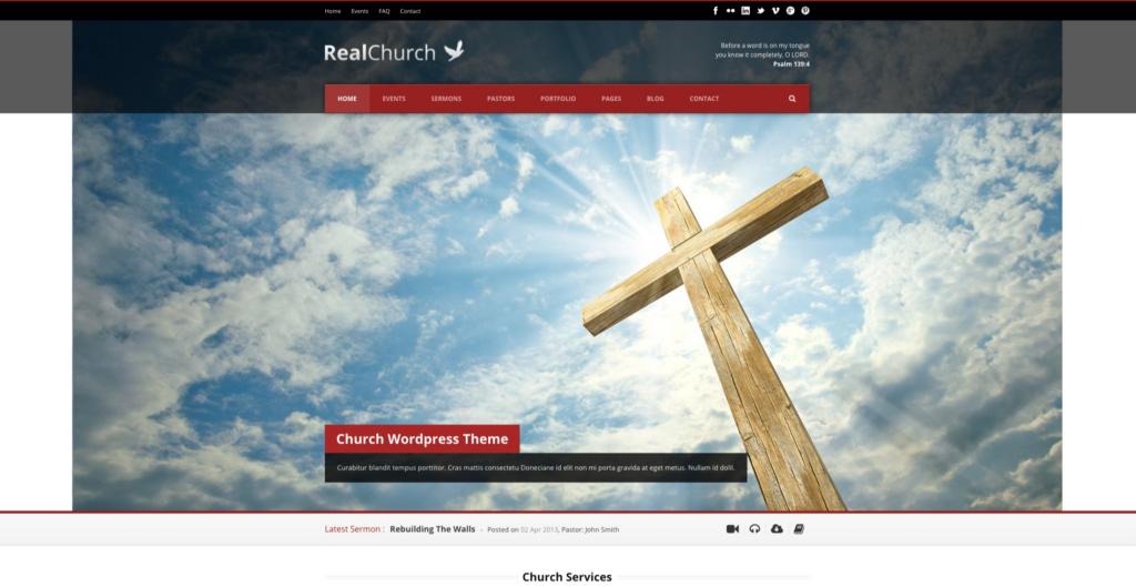 Real Church —Responsive Retina Ready Theme