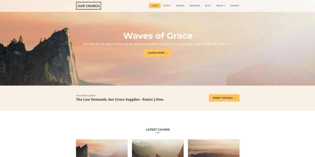 Our Church | Religious Churches WordPress Theme