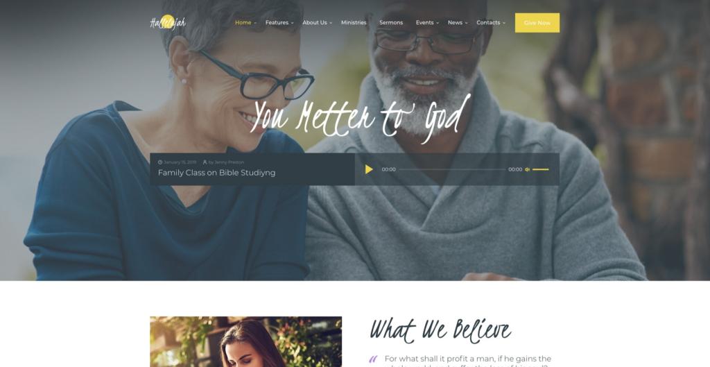 Hallelujah | Church & Religious WordPress Theme
