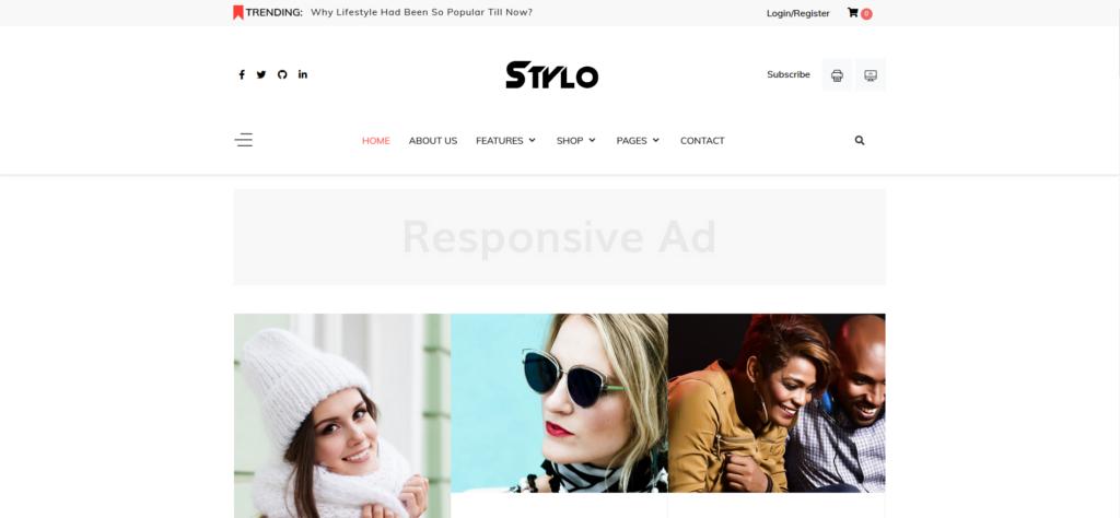 JD Stylo - Fashion Blog & Magazine Joomla Template