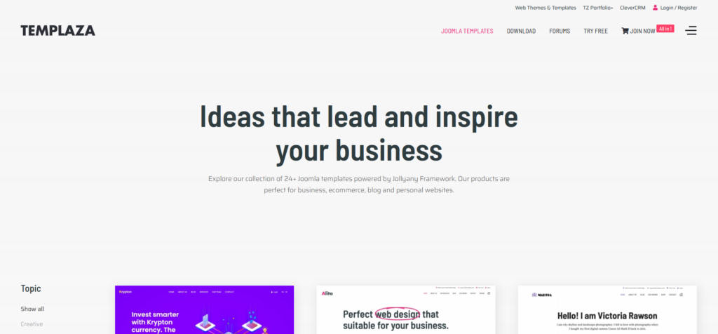 Jollyany   Multi-Purpose Joomla Template