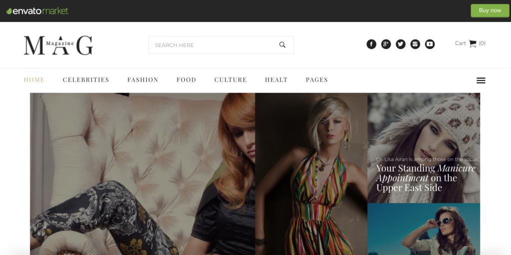 Mag | Online News & Magazine Joomla Template