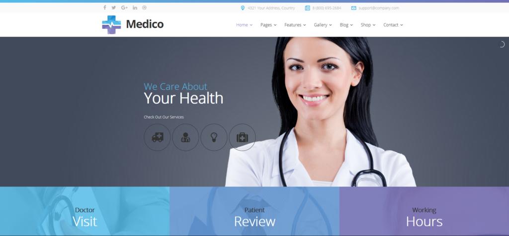 Medico - Medical & Veterinary Joomla Template With Page Builder