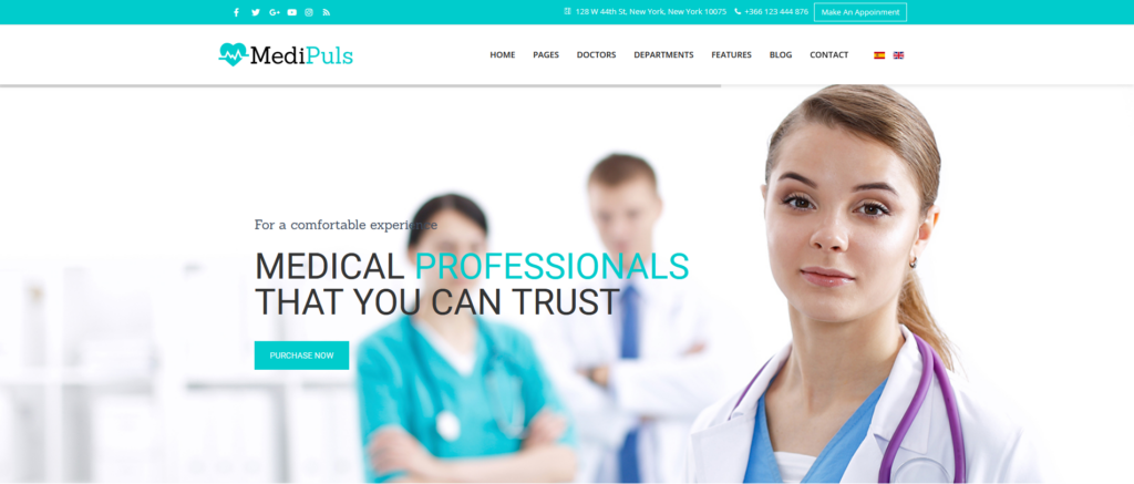 Medipuls - Joomla Medical Template