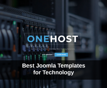 best-joomla-templates-for-technology