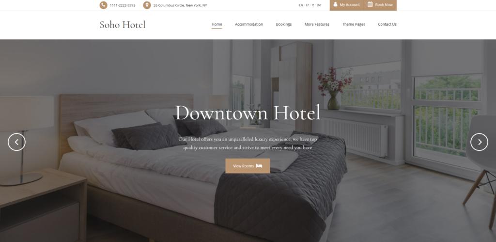 Hotello - Hotel WP Theme